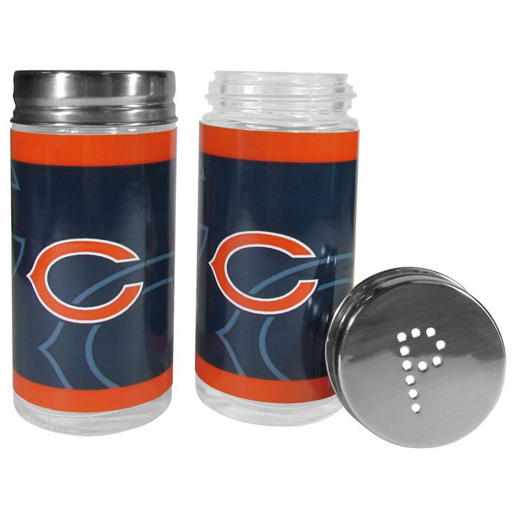"""Checkout our #LicensedGear products FREE SHIPPING + 10% OFF Coupon Code """"Official"""" Chicago Bears Tailgater Salt & Pepper Shakers - Officially licensed NFL product Matching glass salt & pepper shakers that are 3.75 inches tall Lids feature a P and S design Whether you are camping or tailgating these great looking shakers will be a hit The bright team graphics will make you the envy of any Chicago Bears fan - Price: $23.00. Buy now at…"""