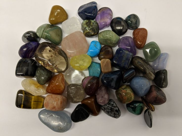 Great selection of crystals in this order