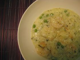 My Thermomix Kitchen - Blog for healthy low fat Weight Watchers friendly recipes for the Thermomix : Lemon and Garlic Prawn Risotto