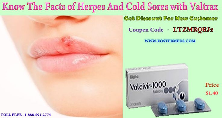 Valtrex For Cold Sores