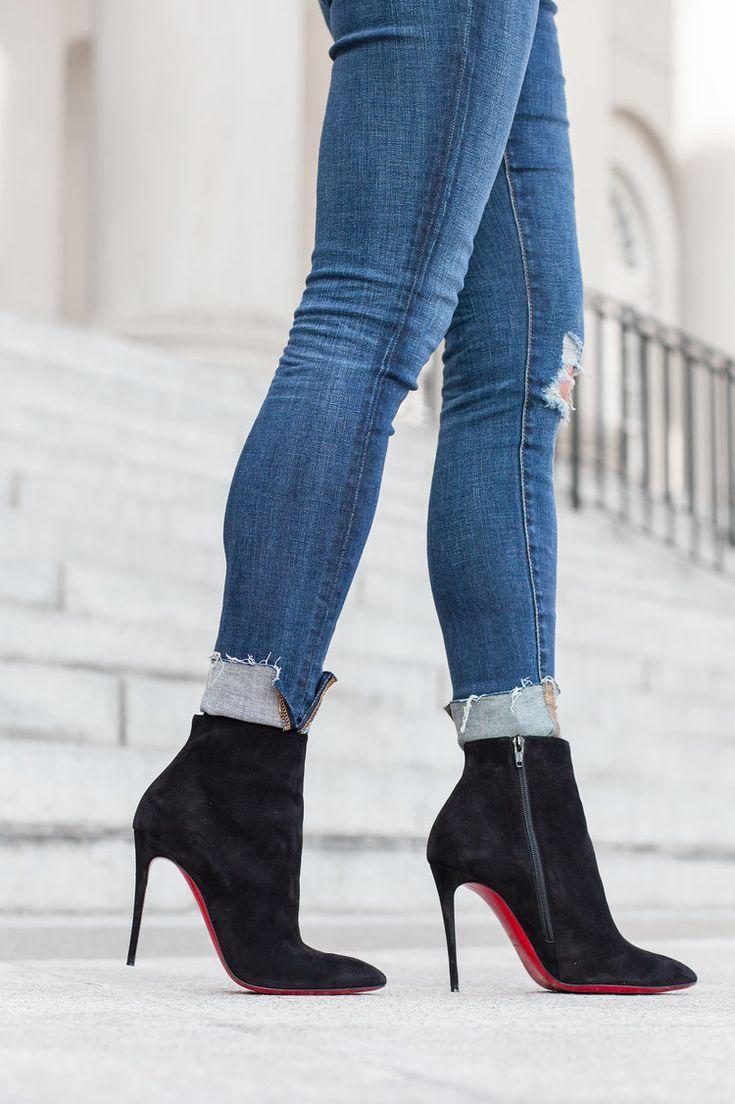 Boots, Louboutin shoes, Christian louboutin