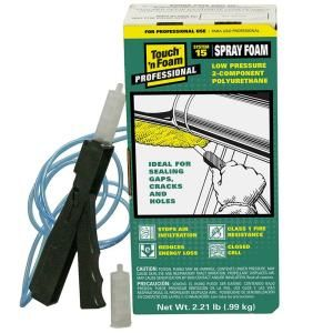 Touch 'n Foam 15 Board Foot Polyurethane 2-Component Spray Foam Kit-4006002506 at The Home Depot #insulation