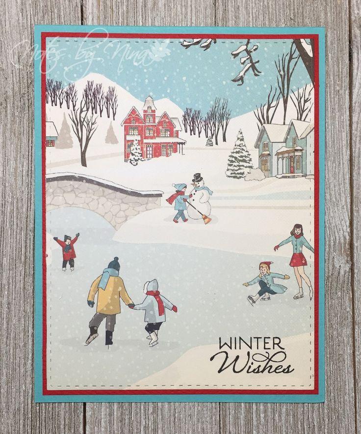 Merry Monday Christmas Card Challenge #265