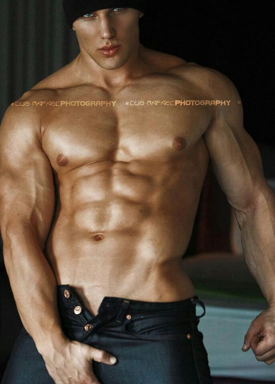 Christian Bok Male Fitness Model  Luis Rafael Www -7821