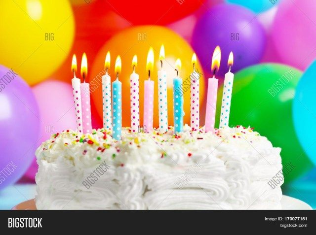 Miraculous 27 Best Photo Of Birthday Cake With Candles With Images Personalised Birthday Cards Cominlily Jamesorg