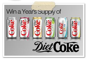 diet coke win for a year