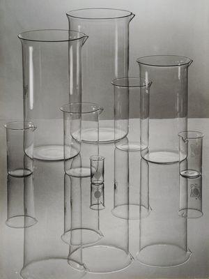 advertising photo for Jenaer Glas by albert Renger-Patzsch. 1936