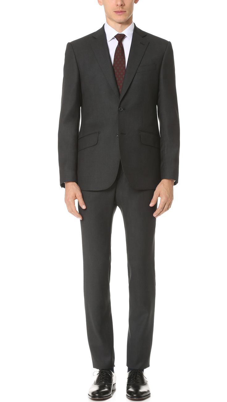 HARDY AMIES Birdseye Brinsley Suit. #hardyamies #cloth #suit