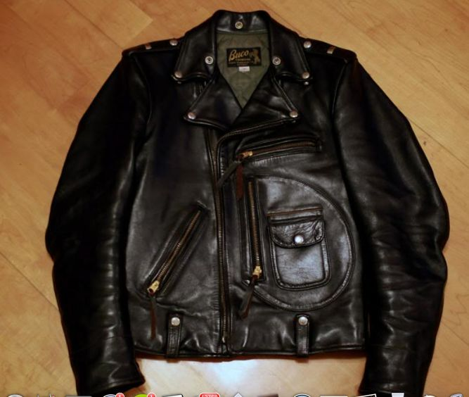 buco d-pocket motorcycle jacket