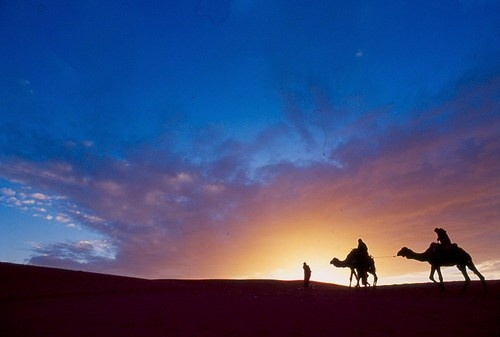 moroccon sunset