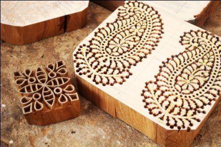 Handmade Block from Pethapur in Gujarat