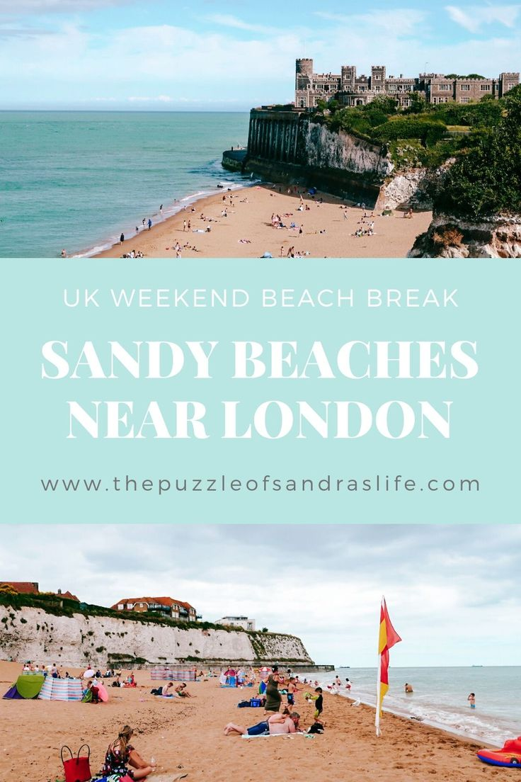 Looking for sandy beaches near London? Head over to Broadstairs for a weekend beach break! Joss Bay, Kingsgate Bay and Botany Bay are all worth a visit. For more details, check out the blog post! #uktravel #englandbeaches #englandtravel #england #travel Travelling Europe, Europe Travel Tips, Travel Guides, British Travel, European Travel, Beach Travel, Beach Trip, Holiday Destinations, Travel Destinations