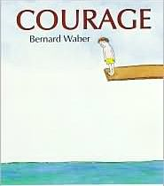 "This book centers around the word ""courage"" and gives many examples of what courage can mean. Site has a writing page to go with the book"