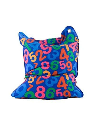 Sitting Bull Kindersitzsack Fashion Mini Bull Numbers blau/mehrfarbig []