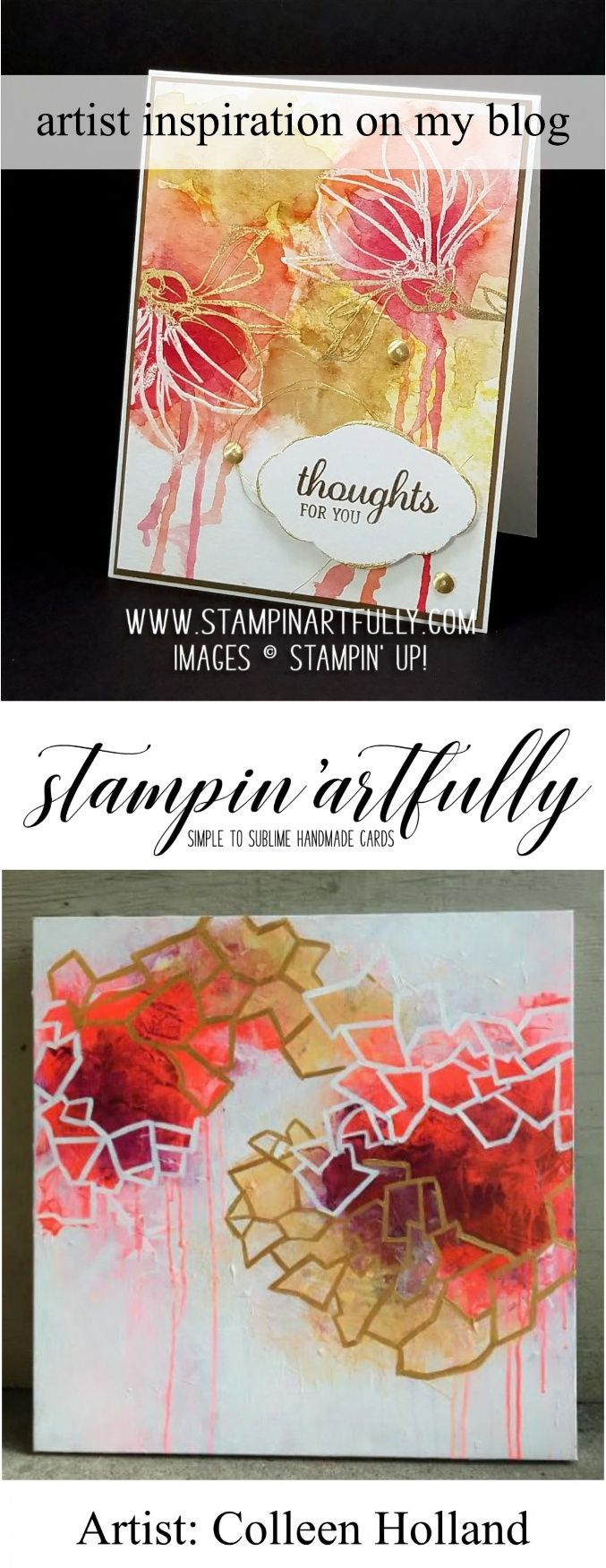 407 Best Cards Watercolor Looks Ideas Images On Pinterest Card