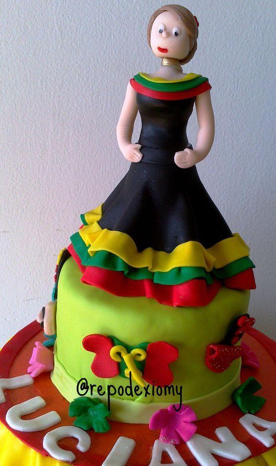 La Repostería de Xiomy hace mas felices tus celebraciones. #tortacarnavaldebarranquilla @larepodexiomy