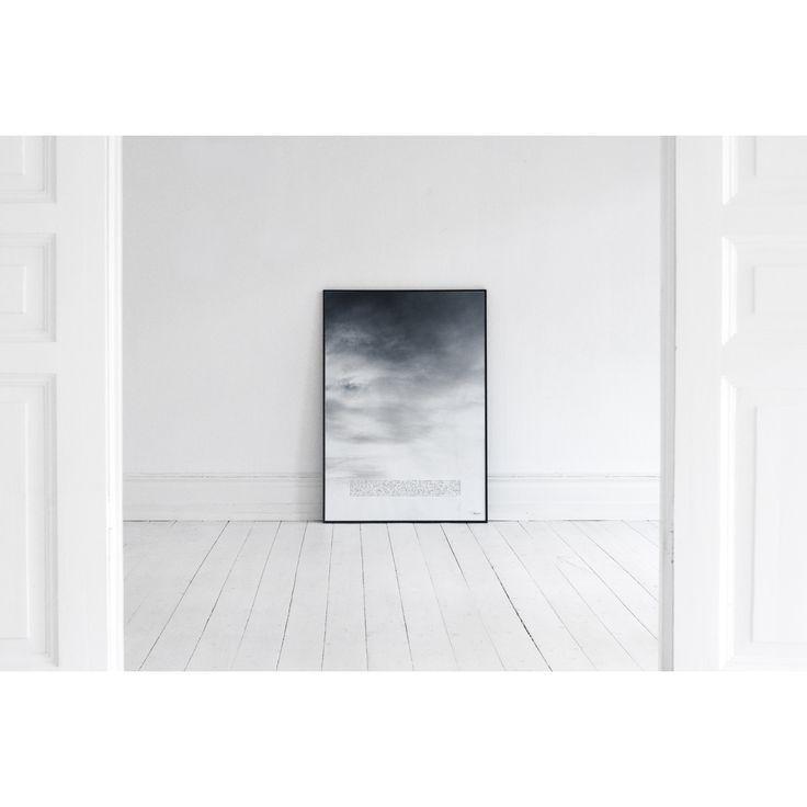 Moln plakat fra House of Beatniks, designet af Pernilla Algede. Med en passion for det kreative og e...