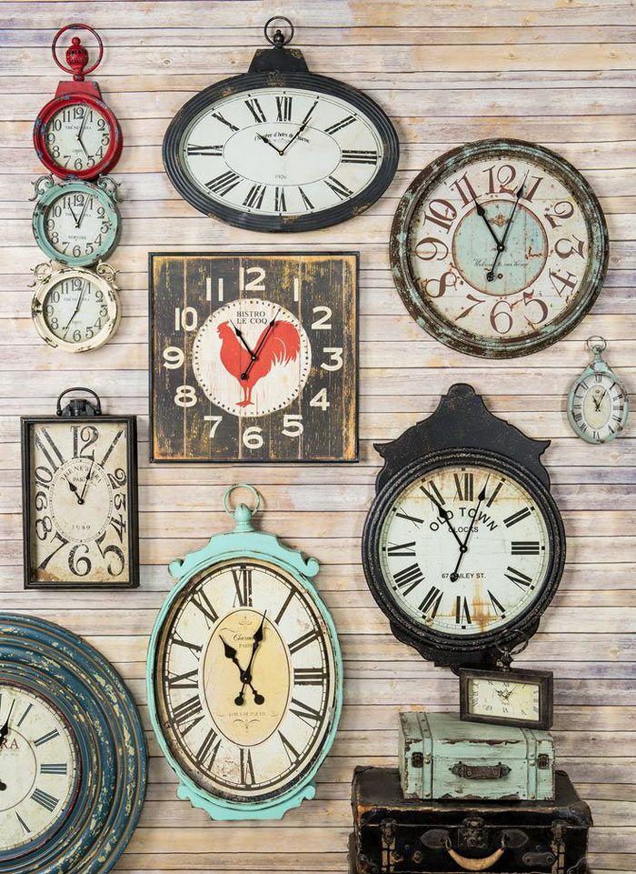 Las 25 mejores ideas sobre relojes de pared de la cocina for Reloj pared retro
