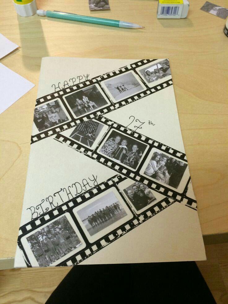 Tarjeta con fotos