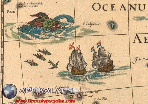 Χαρτογράφοι του Μεσαίωνα και μυθικά τέρατα σε χάρτες