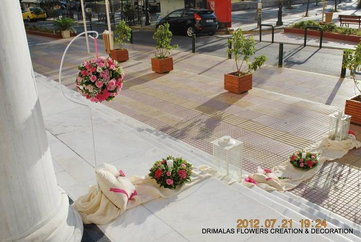 Ανθοπωλεία Δριμάλας  Οραμα Γάμος-Βάπτιση-Διακοσμήσεις   For the only time each woman!  Γιά τήν μοναδική Στιγμή κάθε γυναίκας !  floral designer Drim  Δημιουργούμε τά Ονειρά σας  Δημιουργούμε τίς αναμνήσεις σας   http://www.drimalasflowers.gr/