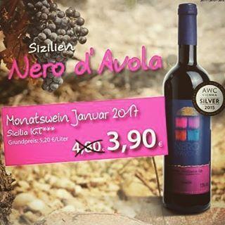 #nerodavola aus #sizilien  zu 3,90€ #weindesmonats #barriqueratingen #ratingen #weinhandel #düsseldorf #mettmann #kaiserswerth