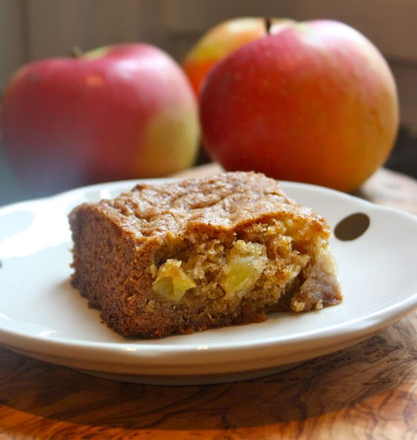 Cannella Vita: apple brownies Came out a little soft but the flavor is ...