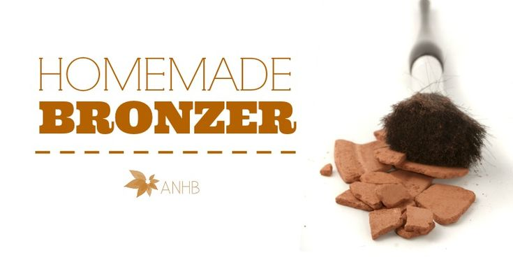 Homemade Bronzer: Simple, easy, natural. | All Natural Home and Beauty