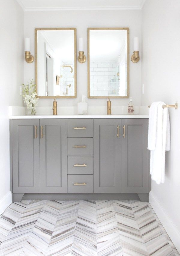 Herringbone Floors Bright White Bathroom Cococozy. 10 Best ideas about Chic Bathrooms on Pinterest   Shabby chic