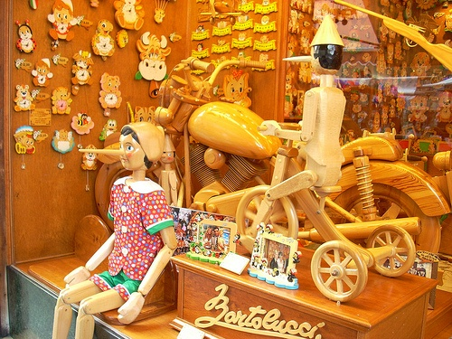 Pinocchio Shop in Venice