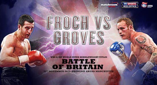 Carl Froch vs George Groves live, Carl Froch vs George Groves live Stream,