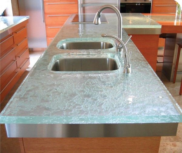 17 Best Images About Glass Countertops On Pinterest