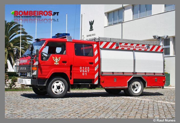 Bombeiros Voluntários  Murtosa - 0125  VSAT 01 - Toyota