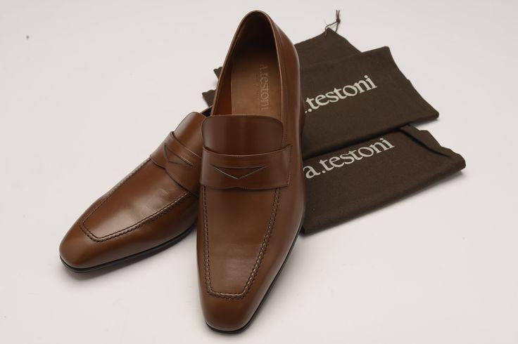 Мужские туфли a.testoni лоферы