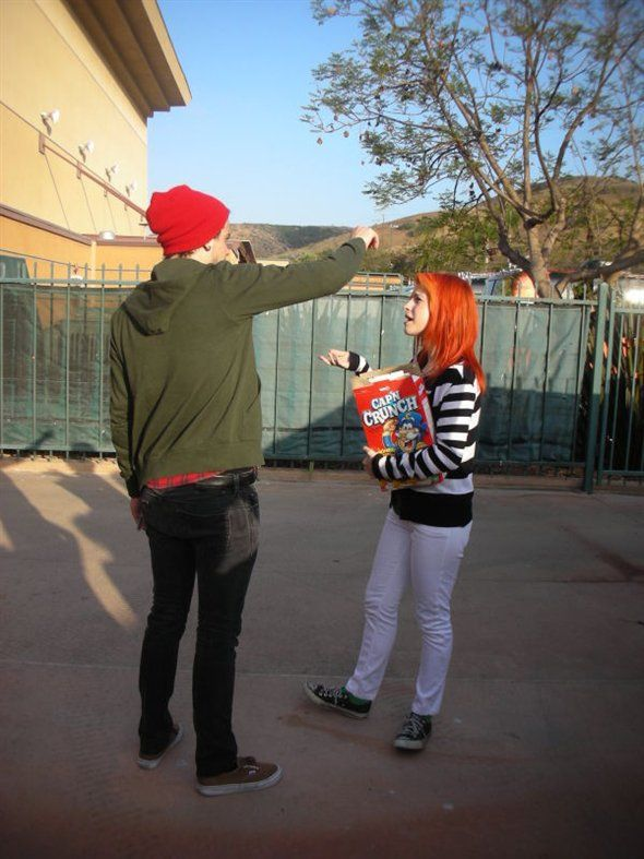 Hayley and Taylor