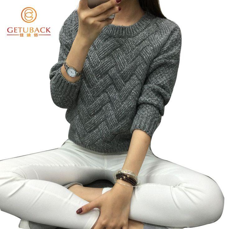Encontrar Más Pullovers Información acerca de Mujeres de la manera 2016 suéteres…