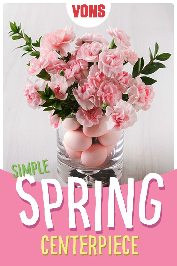 Pretty in pink! This simple spring centerpiece will automatically elevate your Easter esthetic!
