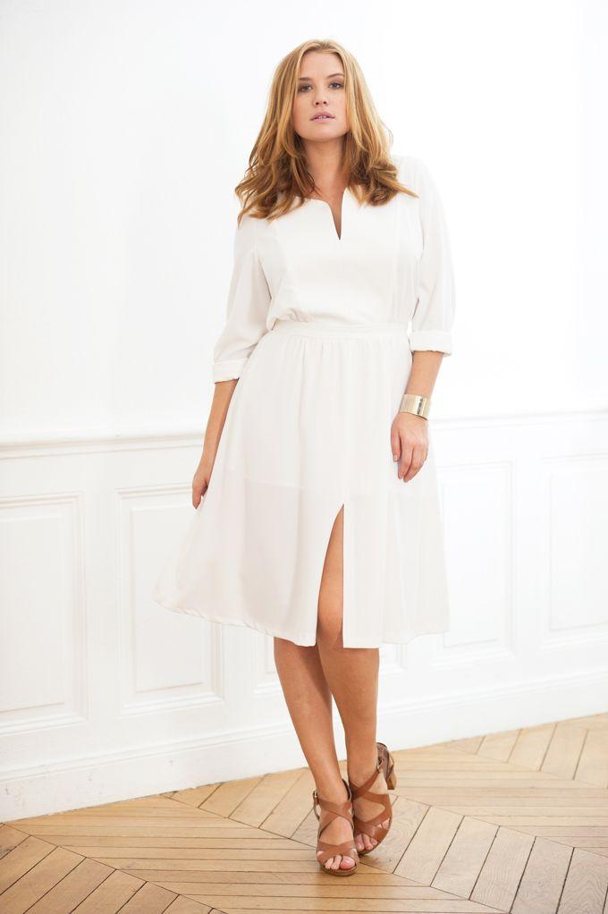 17 best ideas about robe pour femme ronde on pinterest. Black Bedroom Furniture Sets. Home Design Ideas