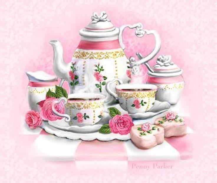 ❤️High Tea ~ Artist Penny Parker