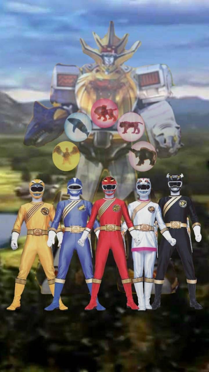 Power Rangers Wild Force : power, rangers, force, Power, Rangers, Force, Wallpaper, Edgestudent21, DeviantArt, Force,, Rangers,