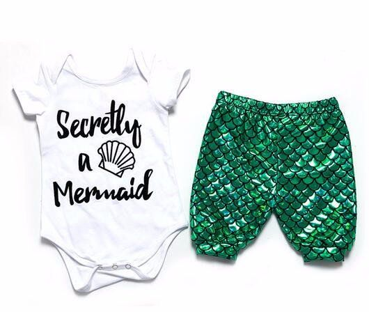 SECRETLY A MERMAID OUTFIT