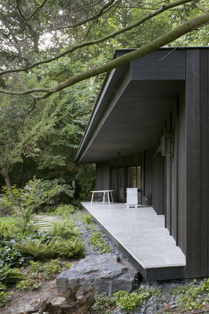© Maxime Delvaux woning terras luifel inplanting bos  ~ Great pin! For Oahu architectural design visit http://ownerbuiltdesign.co