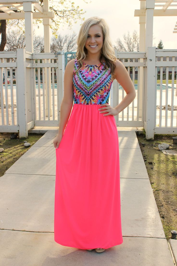 Island Hopper Maxi Dress