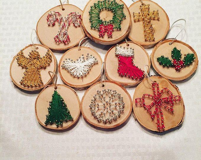 Ornements de Noël Art String