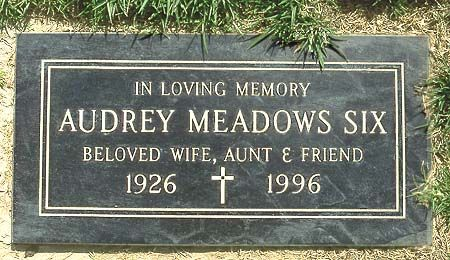 Actress Audrey Meadows (1922-1996), famous for her role as 'Alice Kramden'