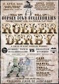 Romsey Town Rollerbillies bout flyer