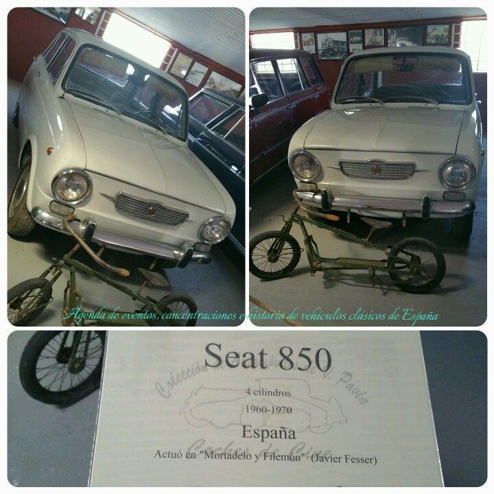 """Seat 850 Actuó en la película de """"Mortadelo y Filemon """" de Javier Fesser."""
