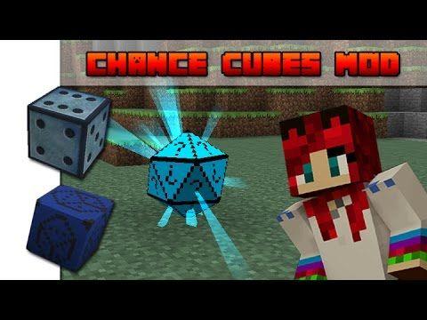 Minecraft - Chance Cubes Mod - Bemutató + Telepítés