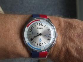 Raketa 24 hours submarine crew watch. Perfect for my work pace.