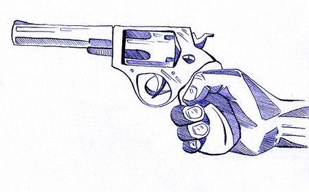 Chuyện lạ khó tin đi cướp ngân hàng bằng súng giấy